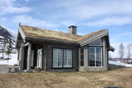 Скандинавский деревянный дом