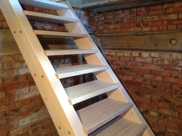 постройка лестницы в подвал