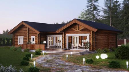 норвежский дом проект