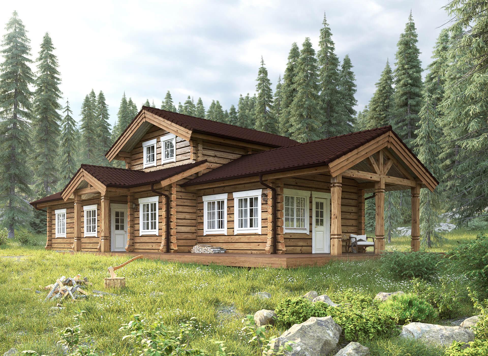 проекты домов в норвежском стиле емкости