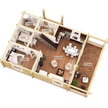 дом7 планировка(размеры)